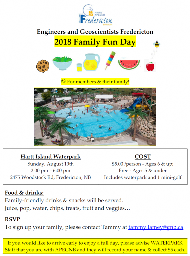 Family fun day 2018 poster